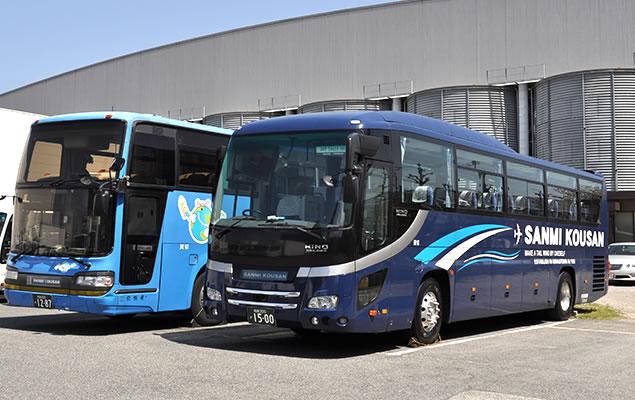 大阪運輸倉庫グループのバス事業